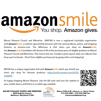 MPCM is on Amazon Smile!